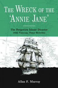 Wreck Annie jane front cover enlarged